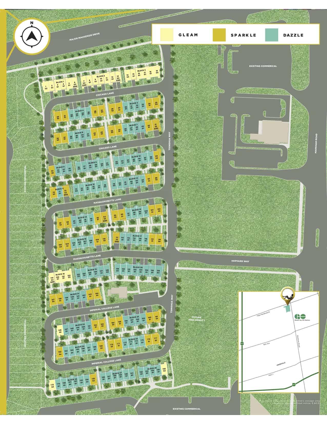 Markham GOLD | Prices & Floor Plans | New Homes Markham
